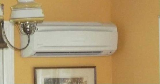West Bay Mechanical's flagship ductless split systems.